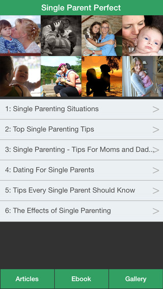 Single Parent Perfect - The Perfect Guide For Single Parenting