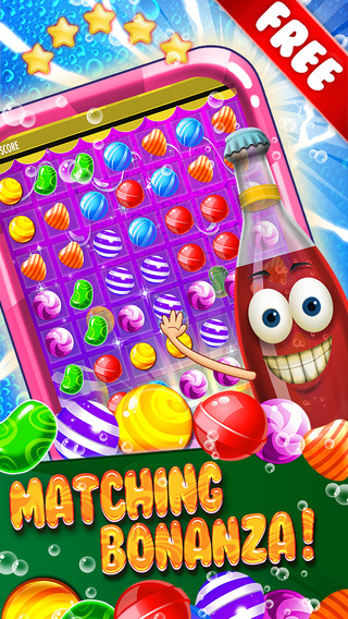 ``` A Top Candy Soda Blitz ``` - fruit adventure mania in mystery match-3 game free