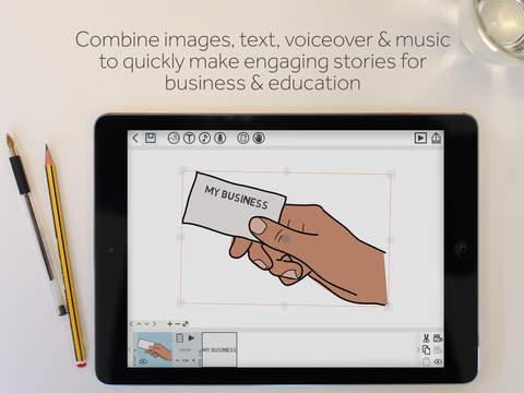 Screenshots for VideoScribe