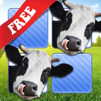 Free Memo Game Farm Animals Photo LOGO-APP點子
