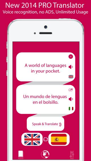 iTranslate Pro - Translator that Translates into over 50 Languages including English Spanish Chinese