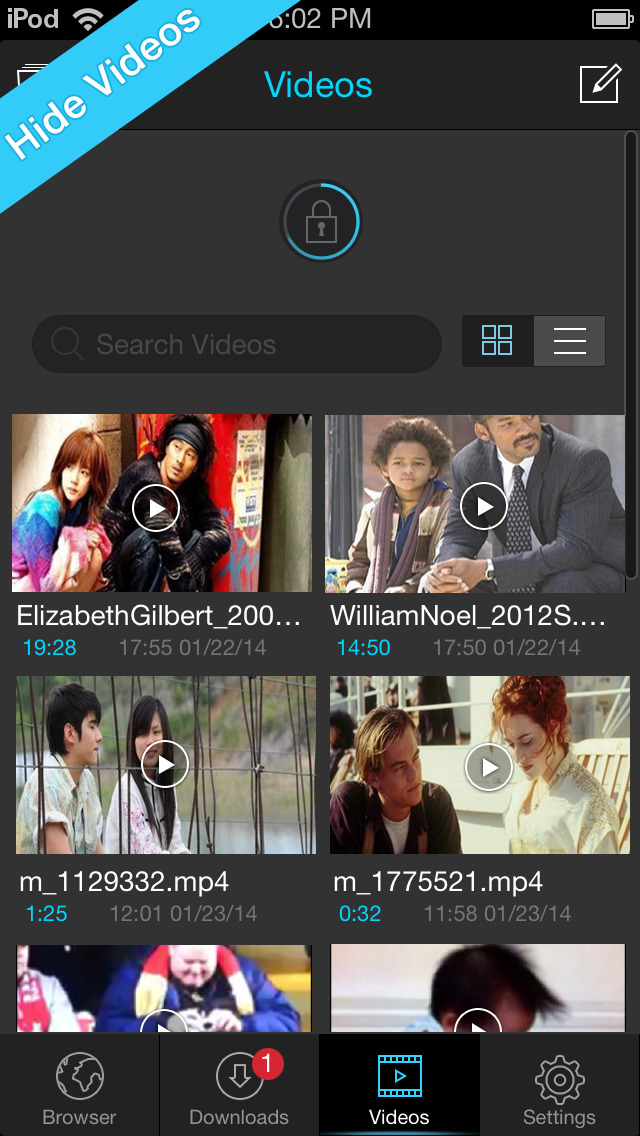 Video Download & Player - Titan  Downloader screenshot 3