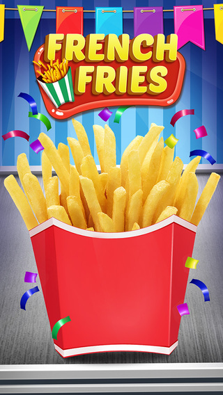 French Fries Maker - American Food Cooking Game