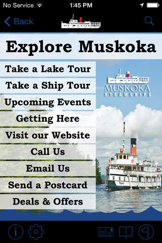 Explore Muskoka screenshot 2