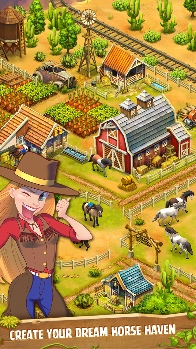 how to play horse haven on pc