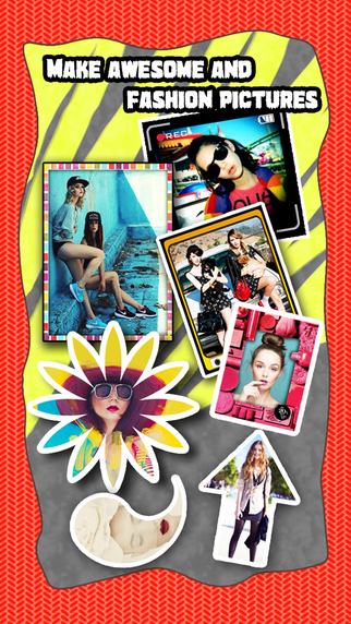 Sketch Shape Pro - Photo Collage Editor to add Pencil Portrait Effects Quirky Frames on Pic