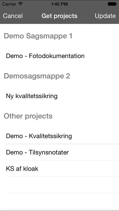 FotoDok iPhone Screenshot 4