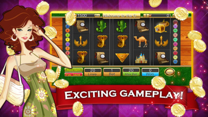 Ancient Egyptian Pharaoh Casino HD screenshot 2
