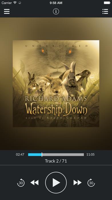 Watership Down by Richard Adams UNABRIDGED AUDIOBOOK