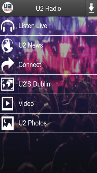 U2 Radio Music Player