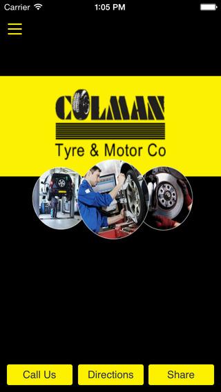 Colman Tyres