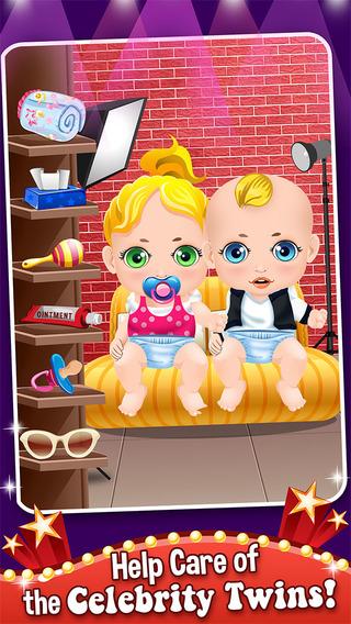 Mommy's Celebrity New Born Twins Doctor - newborn babies salon games