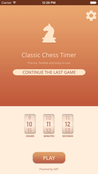 Classic Chess Timer
