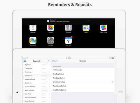 Days Until iPad Screenshot 4