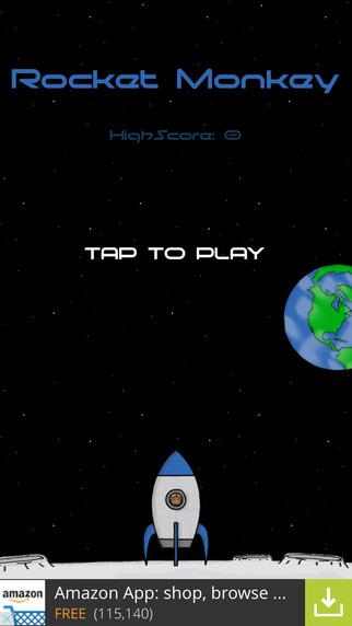 玩免費遊戲APP|下載Super Rocket Monkey app不用錢|硬是要APP