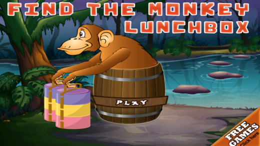 Find the Monkey Lunch Box Free