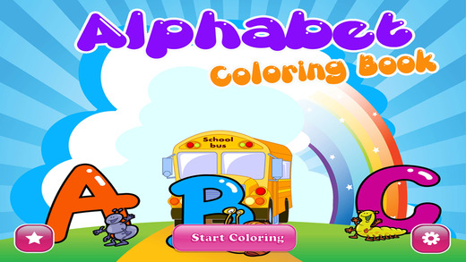 ABC Alphabet and Numbers Coloring Book -Teach Preschoolers using Creativity FREE