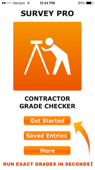 Survey Pro: Contractor Grade Checker