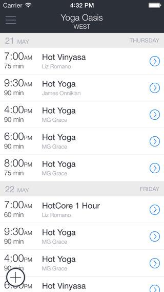 Yoga Oasis app