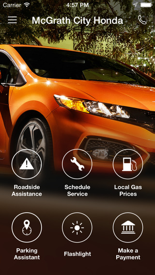 McGrath City Honda DealerApp