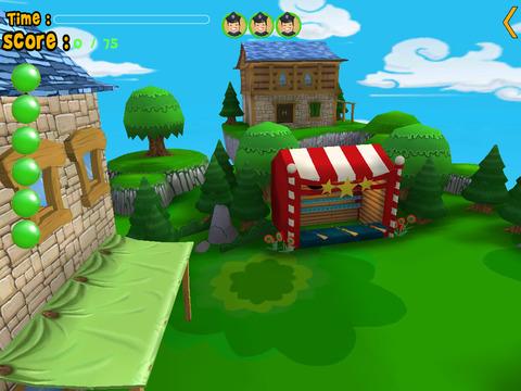 jungle animals carnival shooting for kids vip iPad Screenshot 2