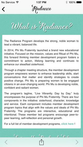 Phi Mu Radiance