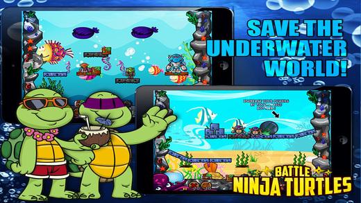 Battle Ninja Pro - The Underwater Mutants Warriors Battle