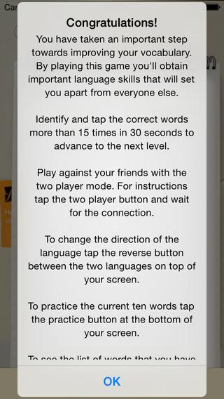 BidBox Vocabulary Trainer: English - Danish iPhone Screenshot 4