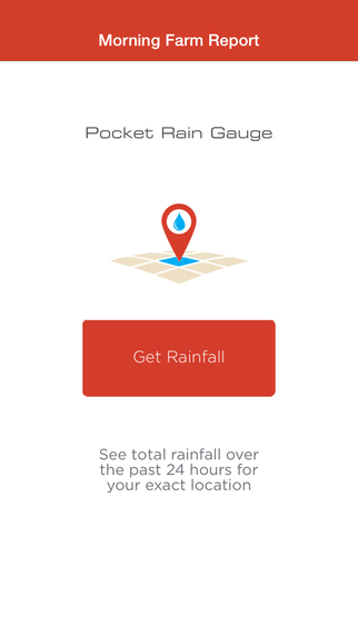 Pocket Rain Gauge - Precision weather powered by Morning Farm Report