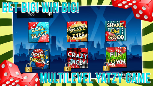 Vegas Yatzy Casino World with Addictive Prize Wheel of Fun