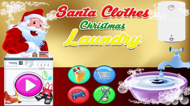Santa Clothes Christmas Laundry 2014 Happy New Year 2015