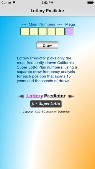 Lottery-Predictor
