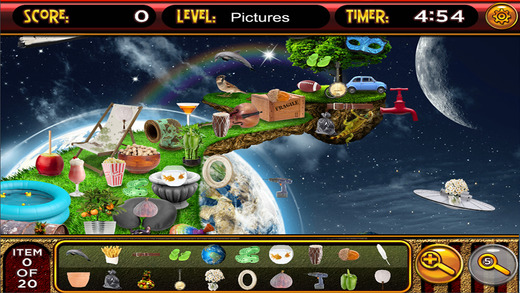 Hidden Object Lost Worlds - Adventures in Hidden Planets