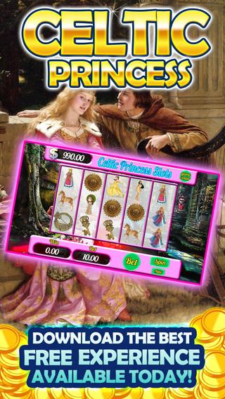 AAA Irish Celtic princes Free Casino Slots-A Dublin Shamrock Lucky Leprechaun Win Jackpot Payout