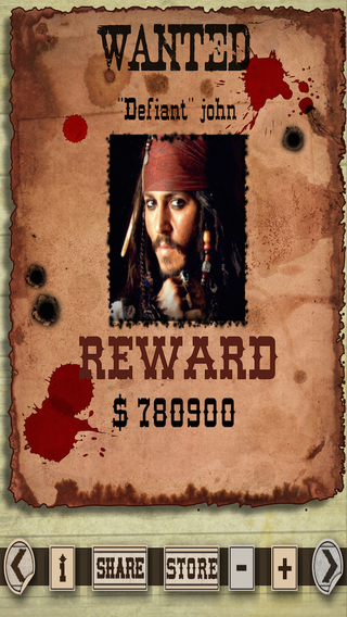 Most Wanted Poster Generator Free
