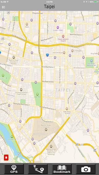 Taipei Offlinemaps with RouteFinder