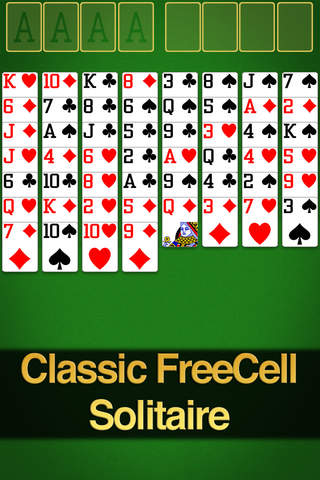 FreeCell screenshot 1