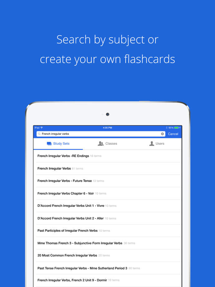 Quizlet - Flashcards & Study Tools - iPhone Mobile Analytics and App Store Data