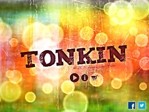 Tonkin - Strategic Board Game for Two