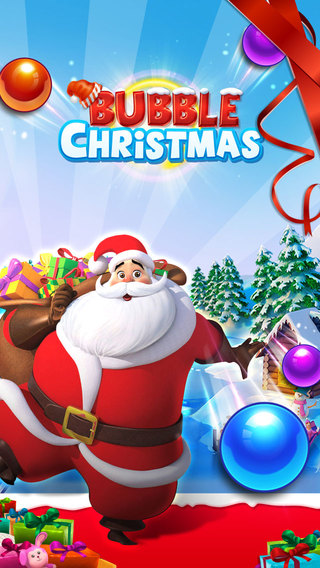 Bubble Christmas Game HD-New Year