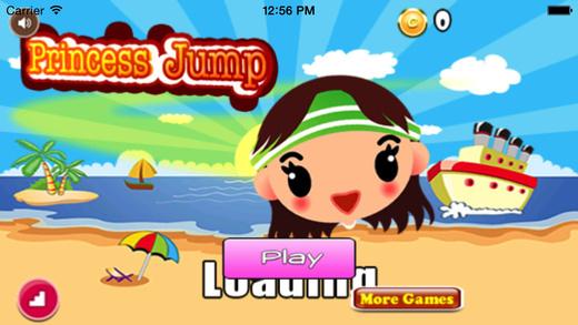 Princess Jump Pro : Fashion Girl Have Fun On The Beach
