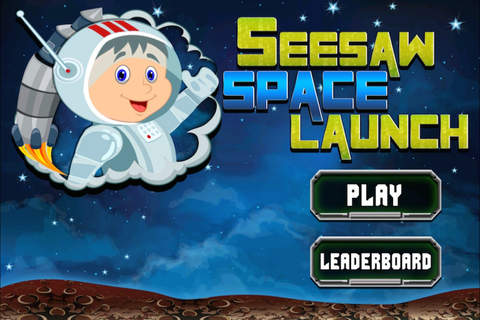 Seesaw Space Launch: The Teeter Totter Rocketeer Flinger screenshot 1