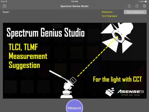 Spectrum Genius Studio iPad
