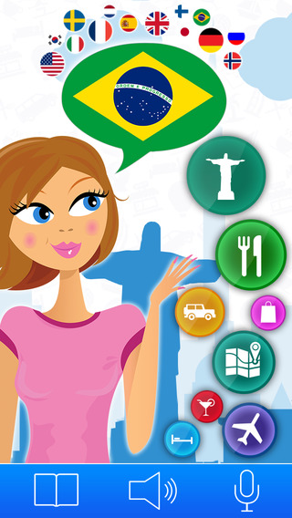 Brazilian Portuguese for Travel: Speak Read Essential Phrases and learn a Language with Lingopedia P