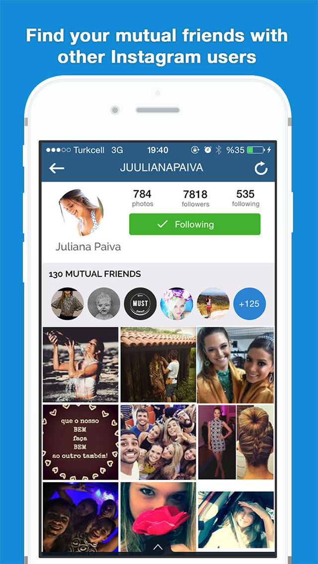 Mutual friend dating app