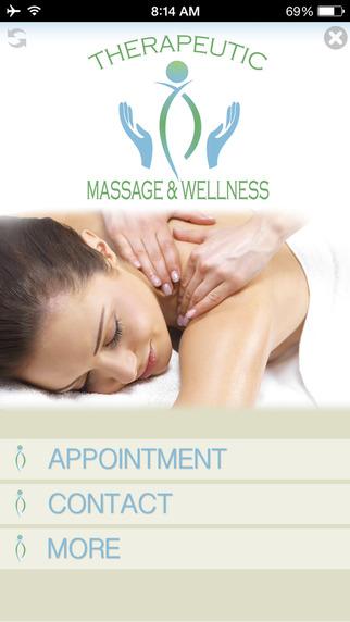 Therapeutic Massage and Wellness