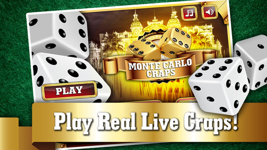 Monte Carlo Craps PRO - Addicting Gambler's Casino Table Dice Game