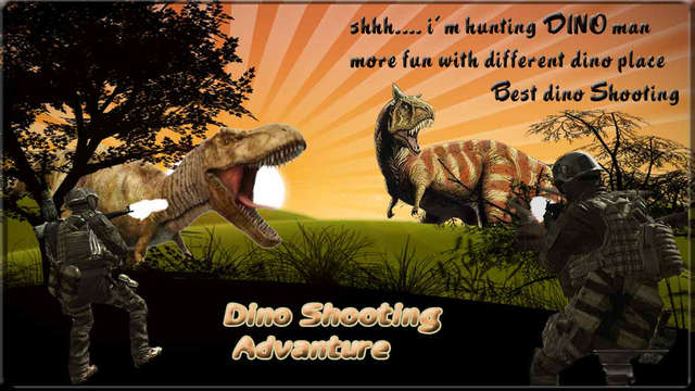 Dino Shooting Adventure In Jungle And Desert : The Shooting Game
