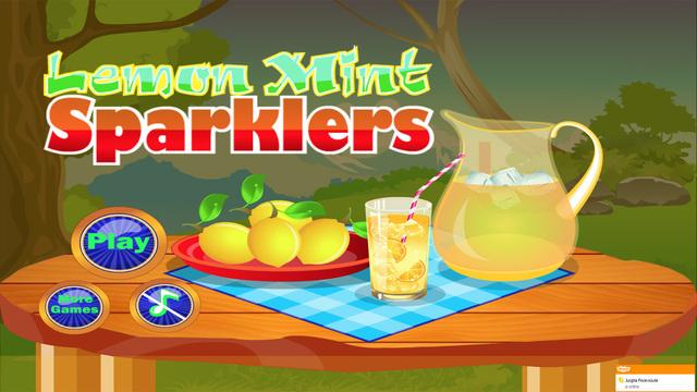 Lemon Mint Sparklers - Games for girls