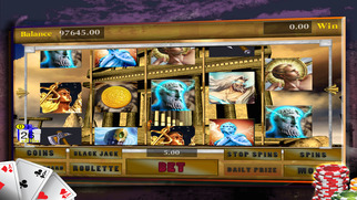 Screenshot 2 Big Win Caesars Slots — A Poker, Blackjack, & Roulette Casino Affair
